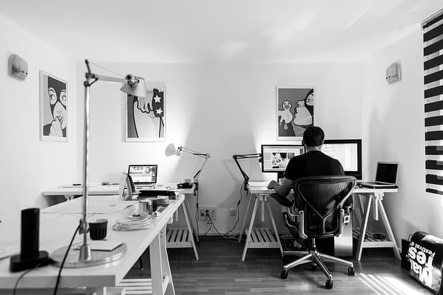 office monochrome