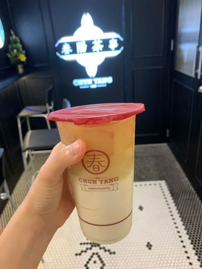 Bubble Tea at Chun Yang