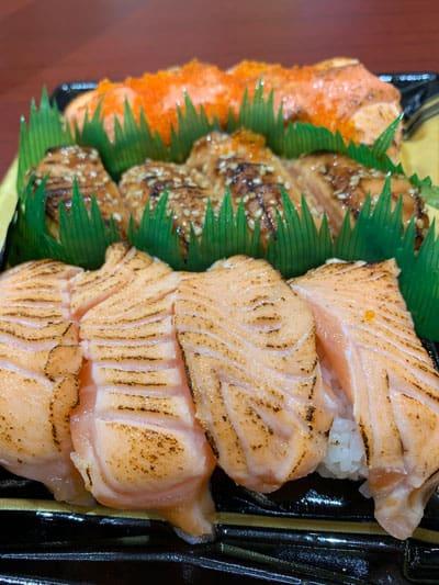 Sushi from Don Don Donki